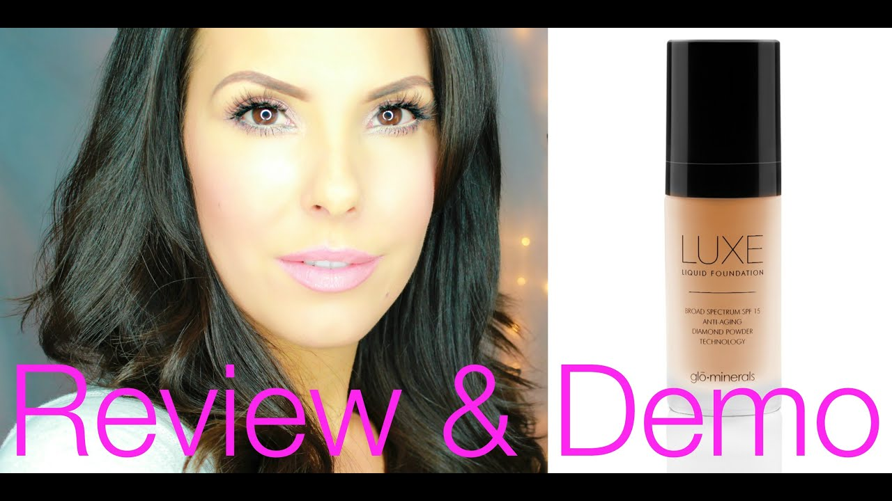 glo minerals luxe foundation review