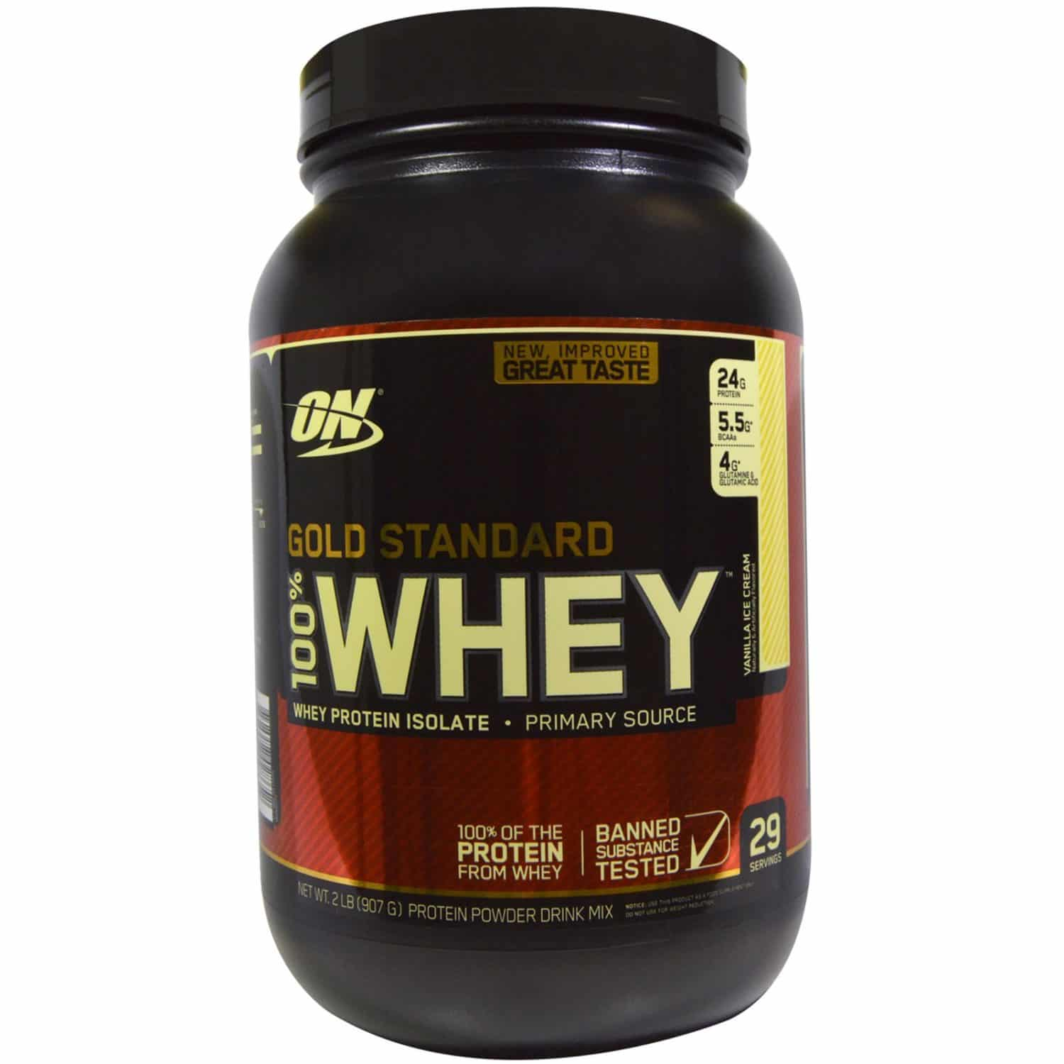 gold standard whey vanilla review
