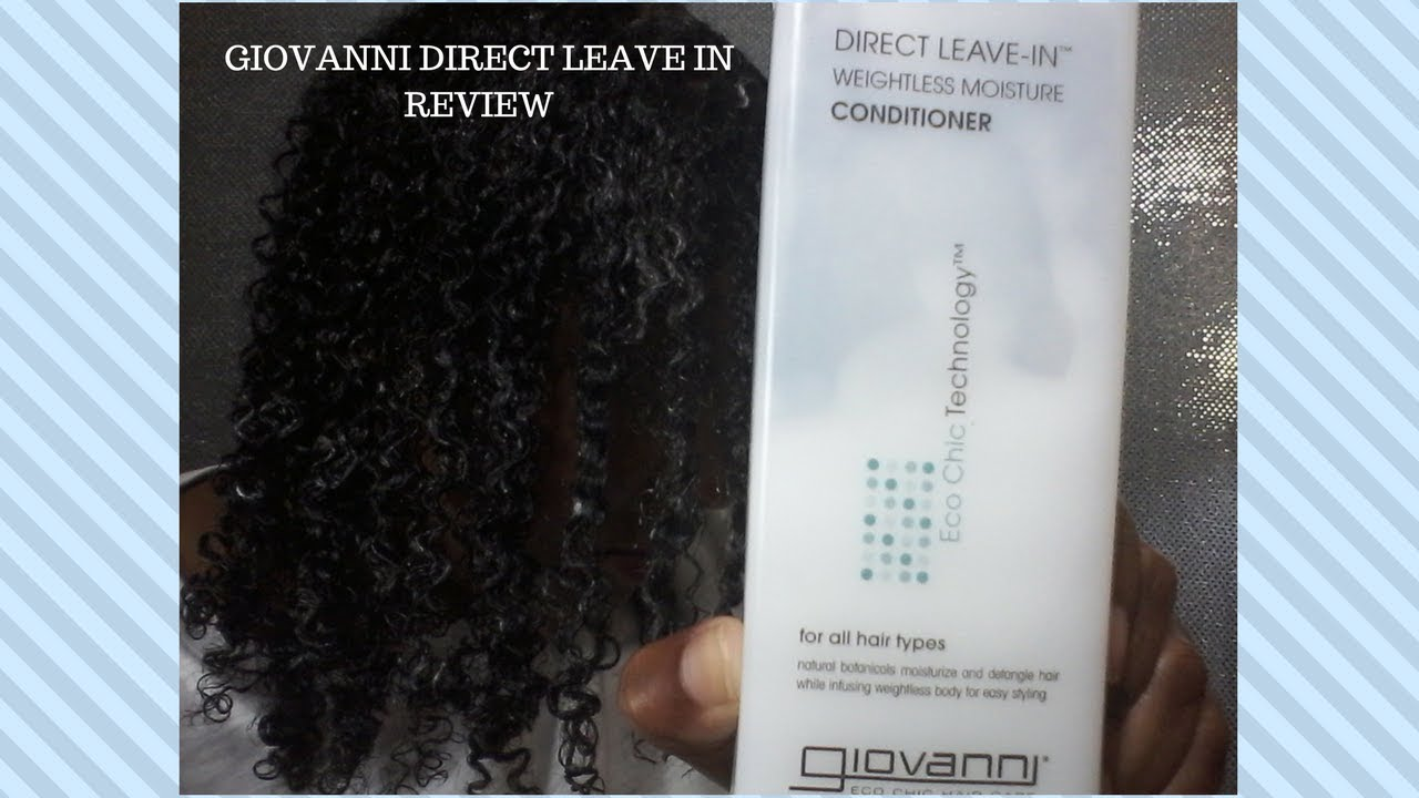 giovanni direct leave in conditioner reviews