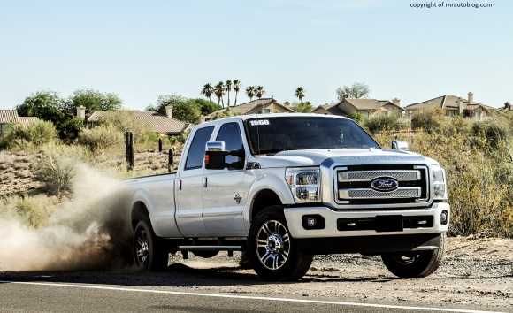 ford f 350 platinum review