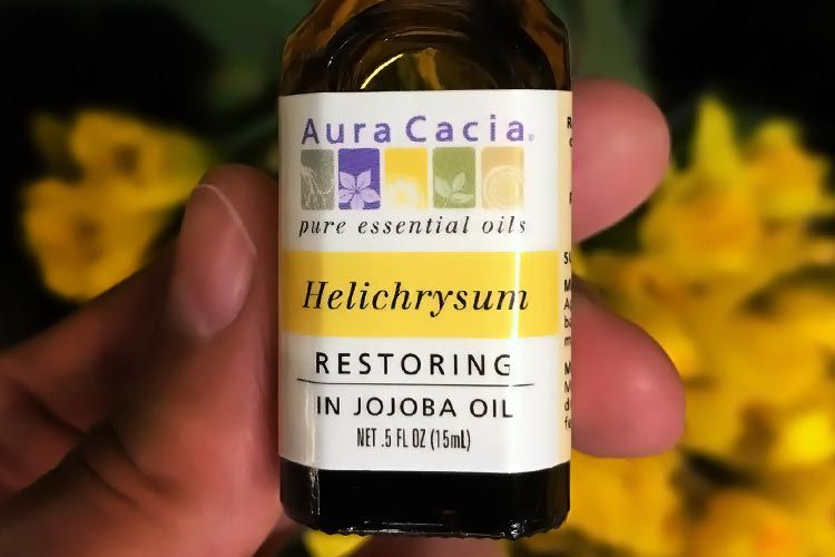 helichrysum oil for acne scars reviews