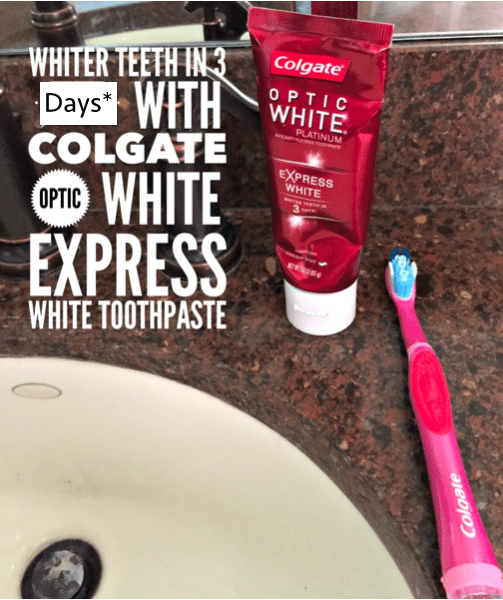 colgate optic white 3 days review