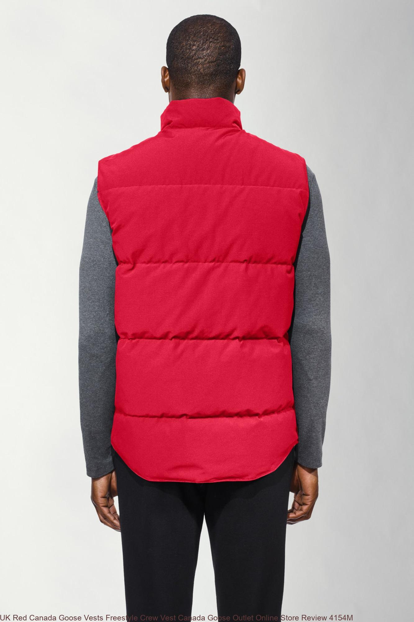 canada goose freestyle vest review