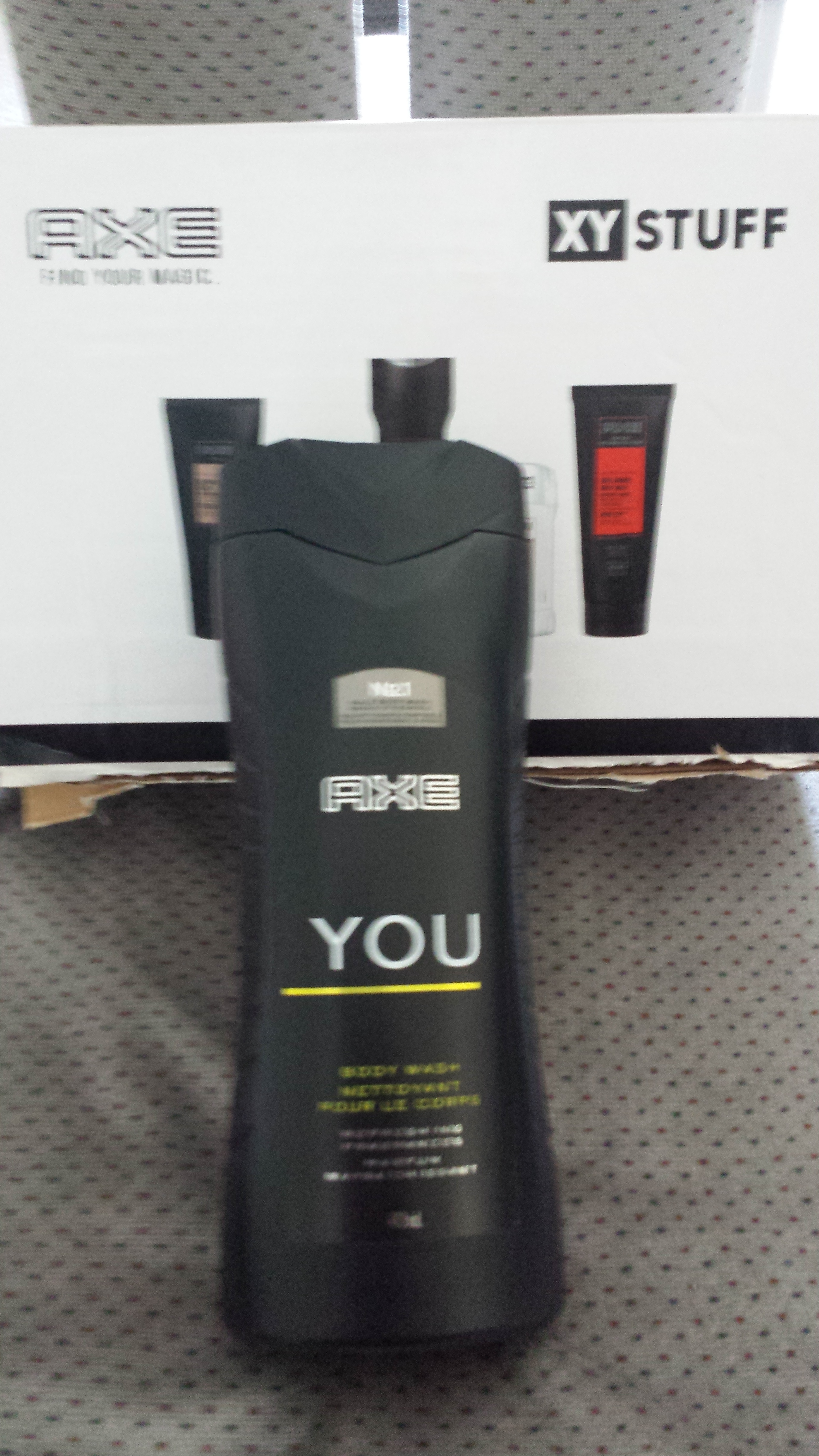 axe you body wash review
