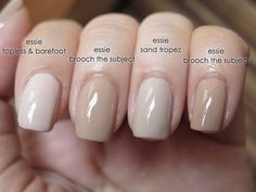 essie topless and barefoot review