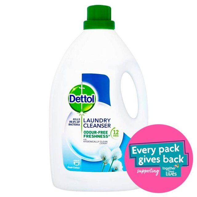 dettol antibacterial laundry cleanser review