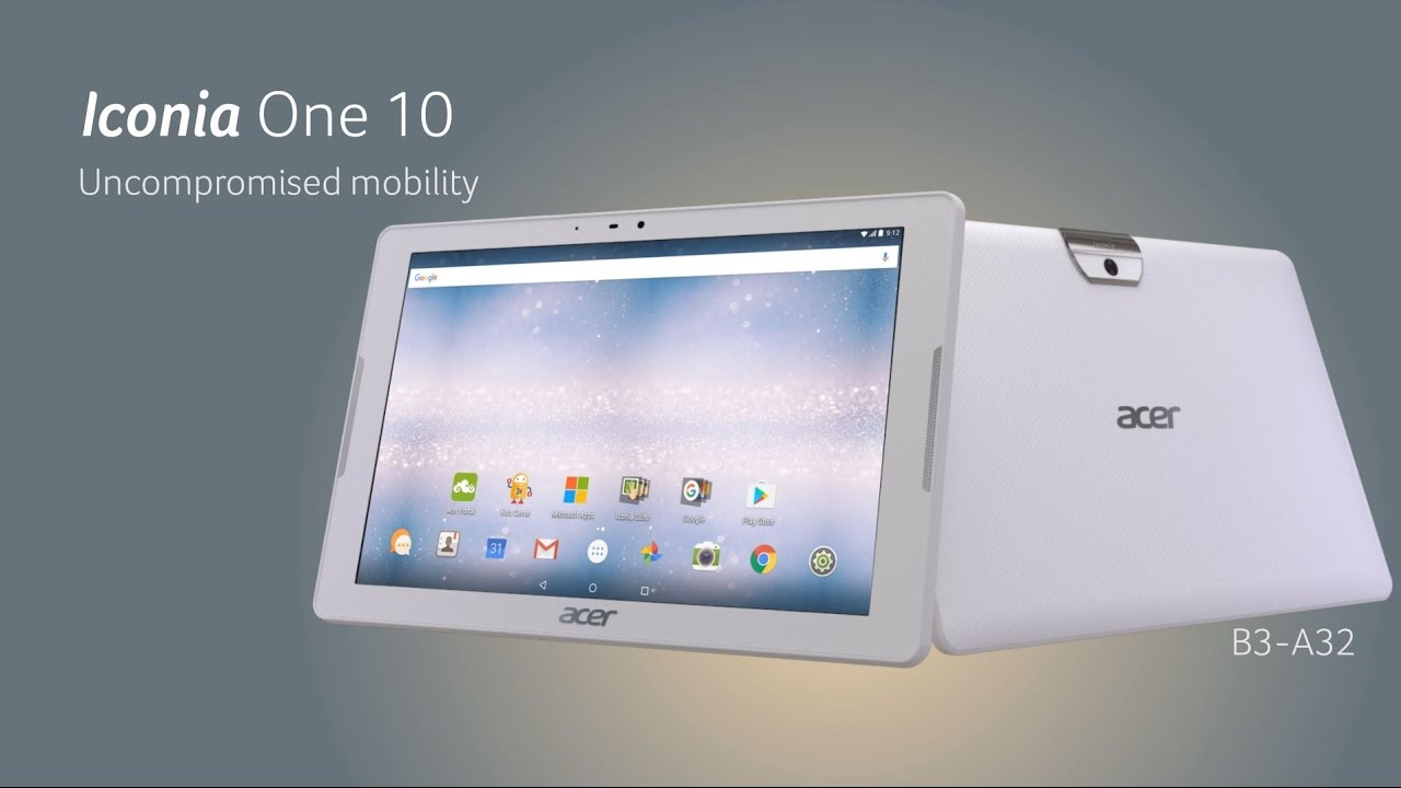acer iconia one 10.1 16gb android 6.0 tablet review
