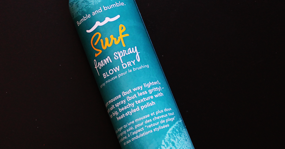 bumble and bumble surf foam spray review
