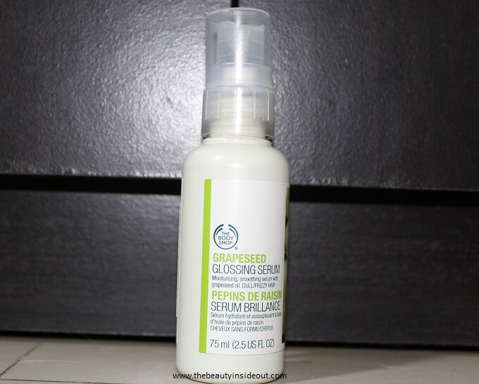 body shop grapeseed serum review