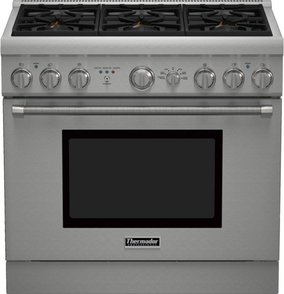 thermador 36 inch gas range reviews