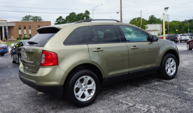 2013 ford edge sel awd review