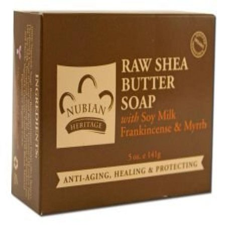 nubian heritage raw shea butter soap review